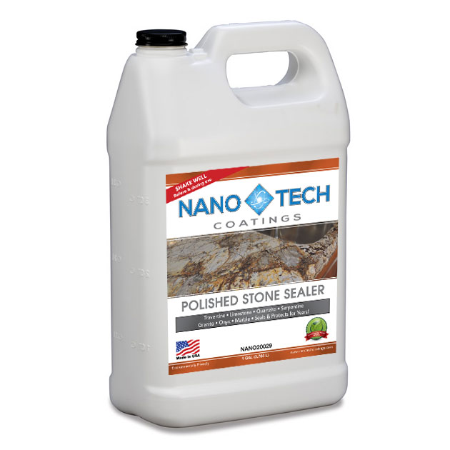 NanoTech Coatings Polished Stone Sealer