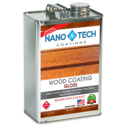 NanoTech Wood Coating