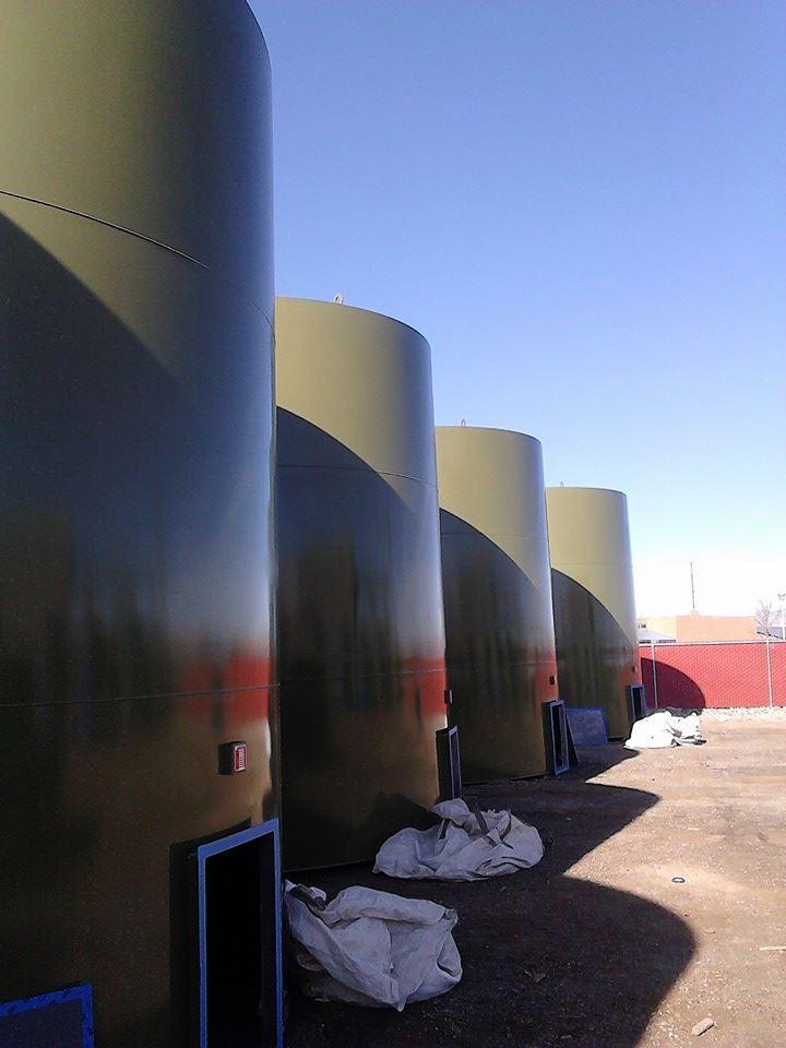 Prevent Corrosion Storage Tank