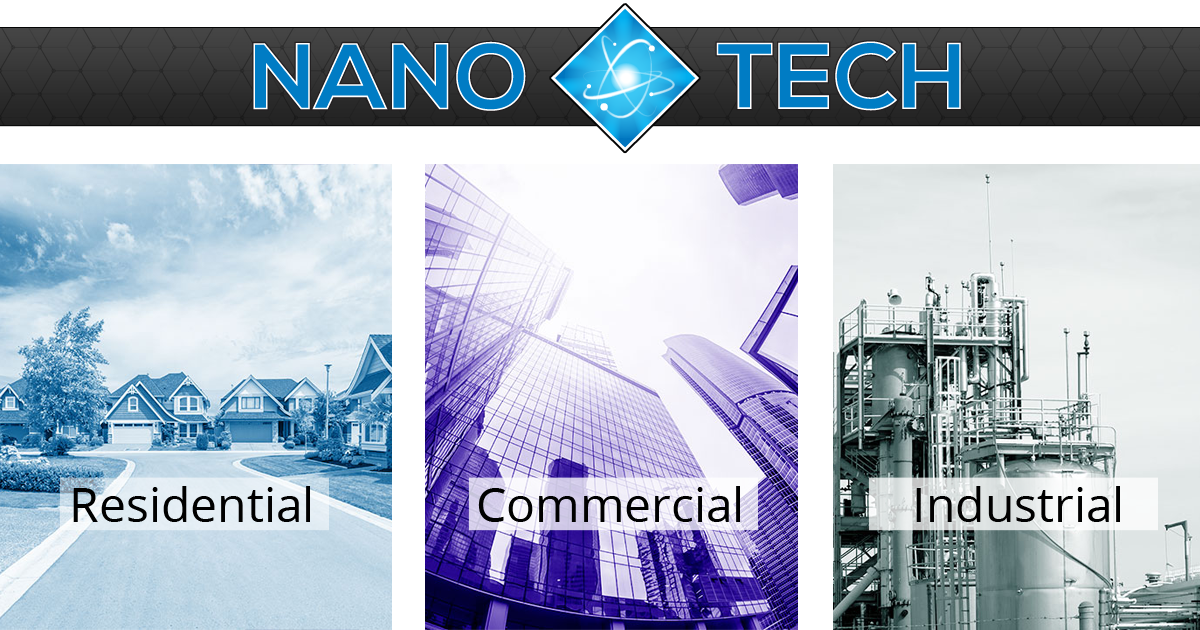 NanoTech Waterproofing Coatings & Sealants